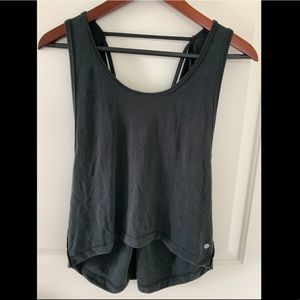Zella Tops - Zella NWT BLACK MADISON TANK